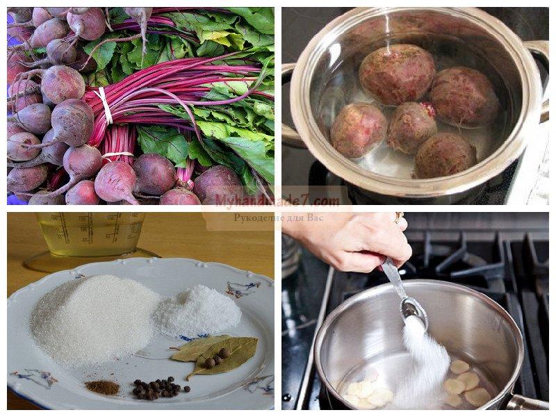 Салаты из свеклы на зиму рецепты