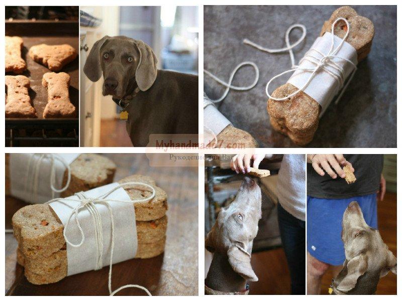 Готовим угощение для собаки своими руками