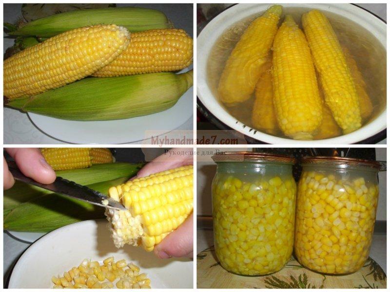 Как закрыть кукуруза в домашних условиях 825