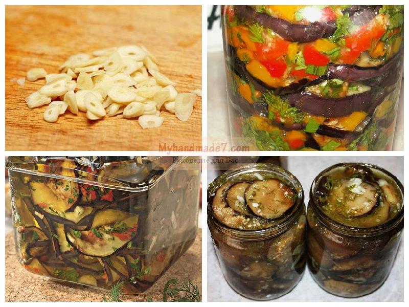 баклажаны на зиму рецепты приготовления обжаренные