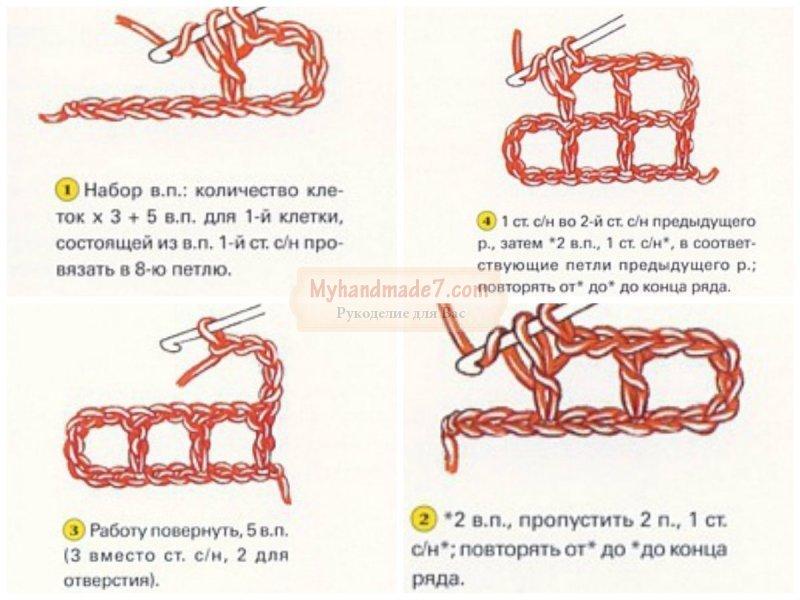 Овальные салфетки крючком: схемы с подробным описанием