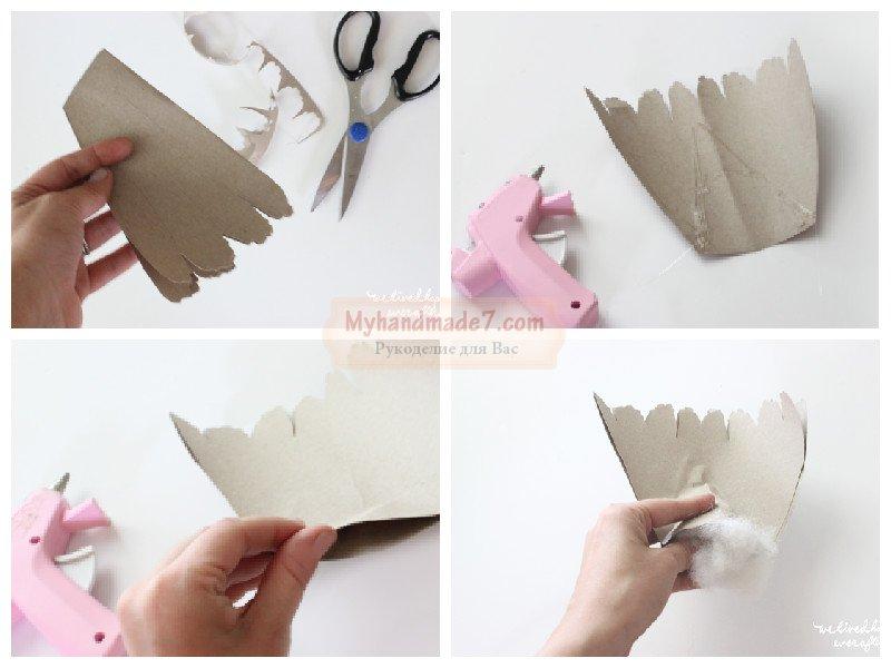 Сова из бумаги своими руками: пошаговый мк с фото