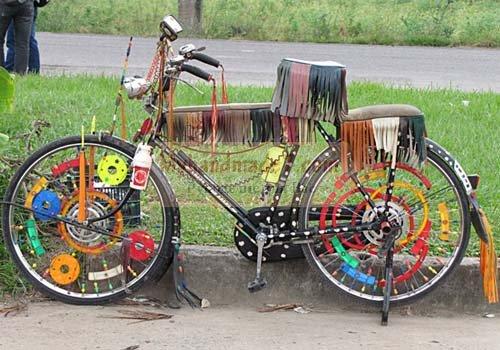 Как украсить велосипед дома. Интересные идеи