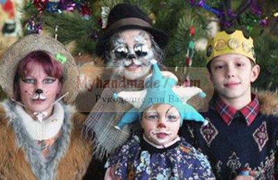 маскарадные костюмы для ребят