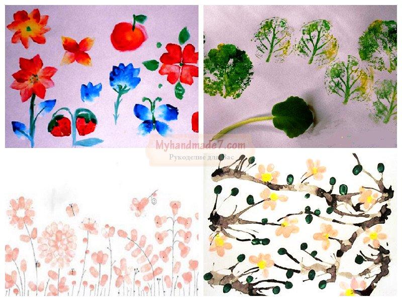 Как нарисовать весну детям картинки