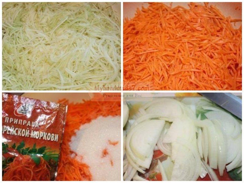 салат кабачки по корейски рецепты с фото