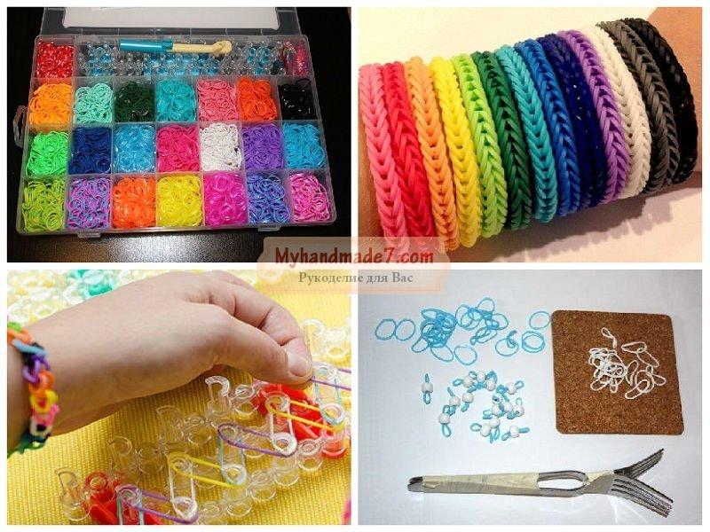 Плетение браслетов на пальцах: : лучшие мастер-классы с фото