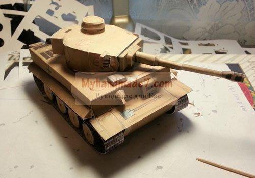 Как сделать танк своими руками из картона