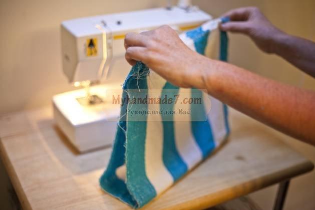 Пляжная сумка своими руками: идеи по изготовлению