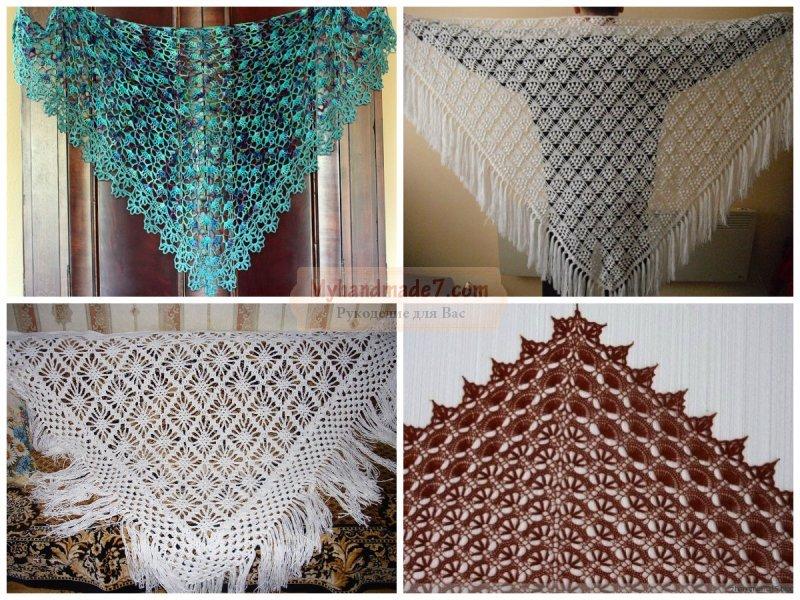 Все тонкости вязания шали. Лучшие идеи и схемы