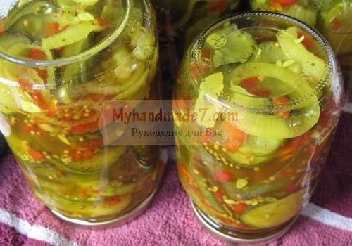 заготовки на зиму салаты рецепты с фото