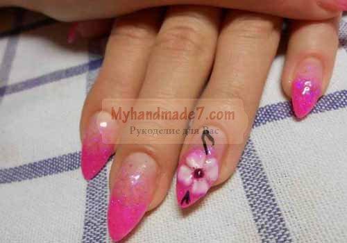 Акриловая лепка на ногтях. Основные советы и мастер-класс