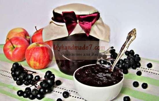 Варенье из черноплодной рябины - вкусно и полезно