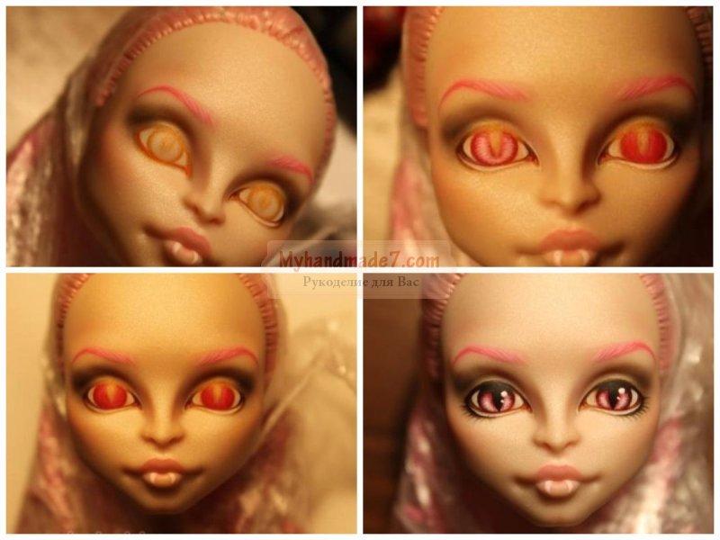 Как сделать куклу монстер хай: фото, идеи и мастер-классы!