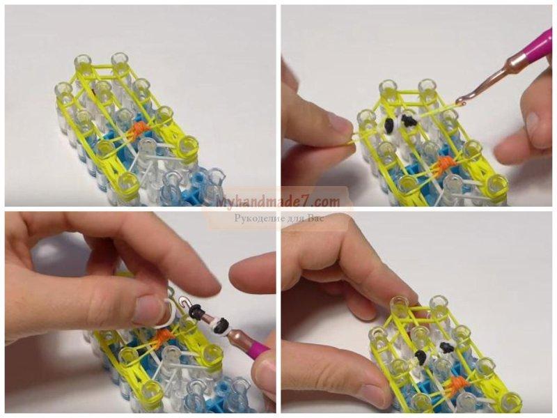 Как сделать простую игрушку из резинок