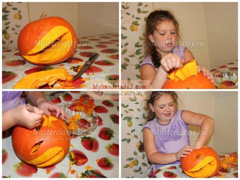 Детские поделки из листьев и овощей фото