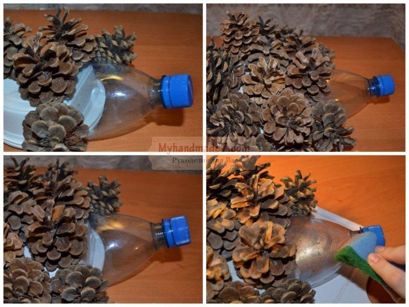 Поделки ёжика из пластиковых бутылок 593