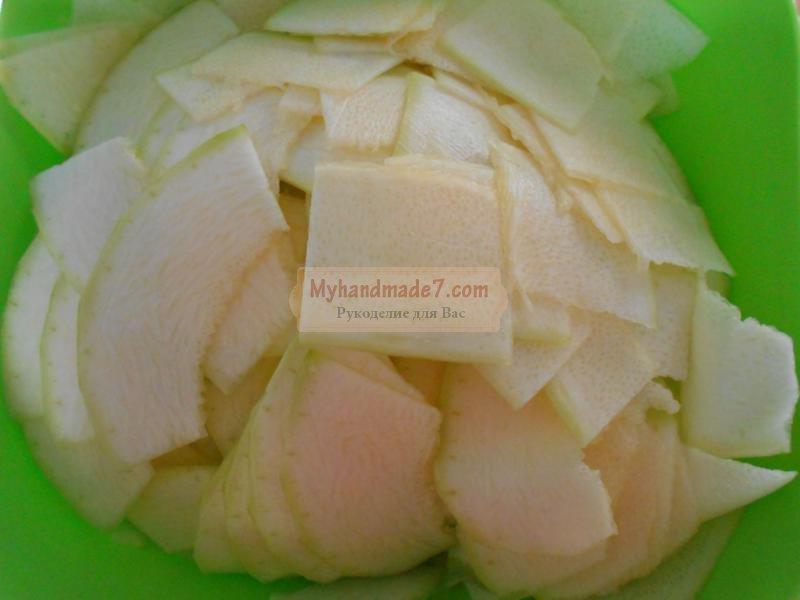 салат из кабачков на зиму. Тещин язык