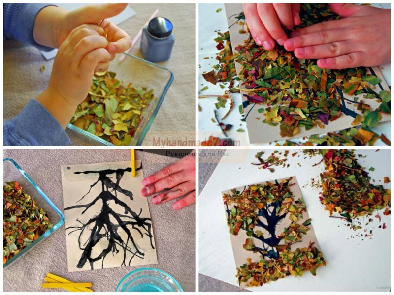 Поделки картины своими руками в детский сад