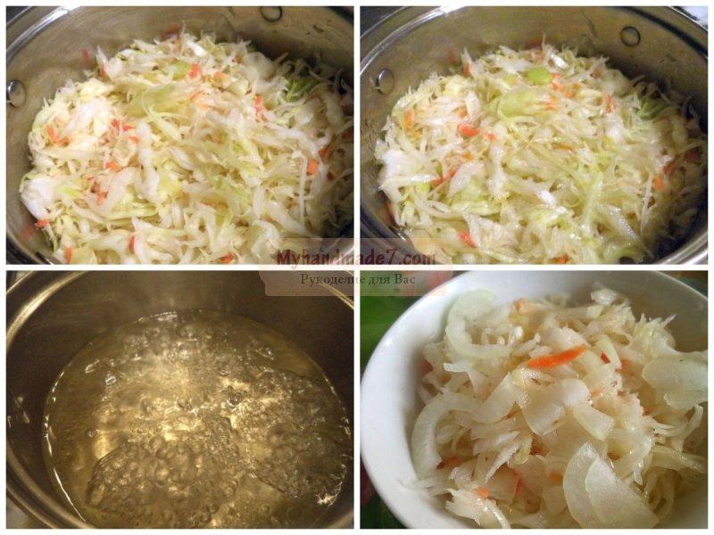 рецепт синей капусты маринованной быстрого приготовления