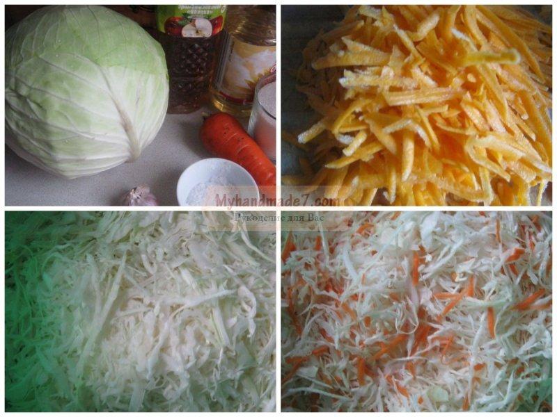 Как сделать капусту однодневку