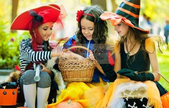 Костюмы на Хэллоуин своими руками для девочек. Лучшие идеи с фото