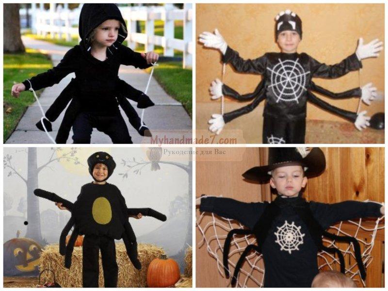 Костюмы на хэллоуин для девочек своими руками фото