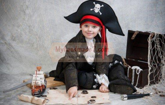 Костюм пирата. Шьем своими руками