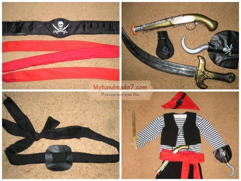 Сделать шляпу для пирата своими руками