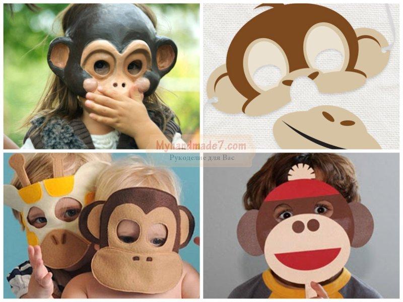 Костюм обезьяна своими руками для ребенка 5