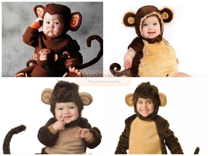 Как своими руками сделать костюм обезьяны своими руками 51