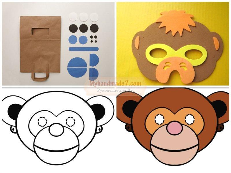 Как своими руками сделать костюм обезьяны своими руками 50