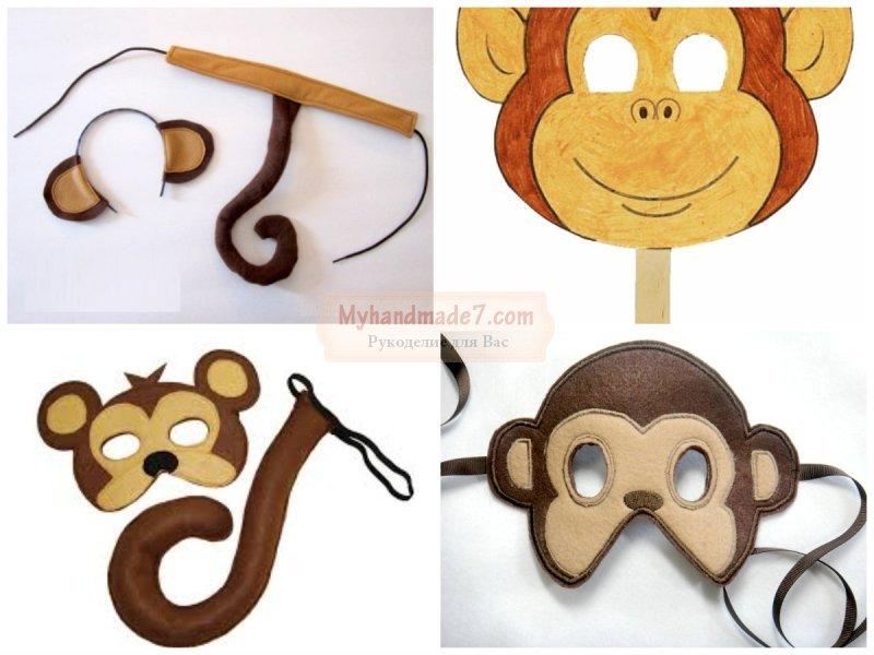 Сделать хвост обезьяны своими руками