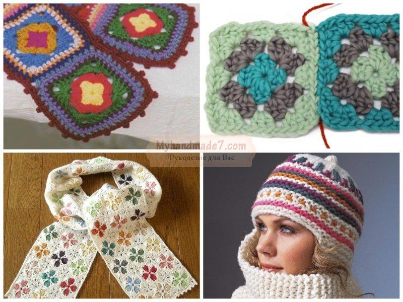 Лучшие схемы вязания: зима