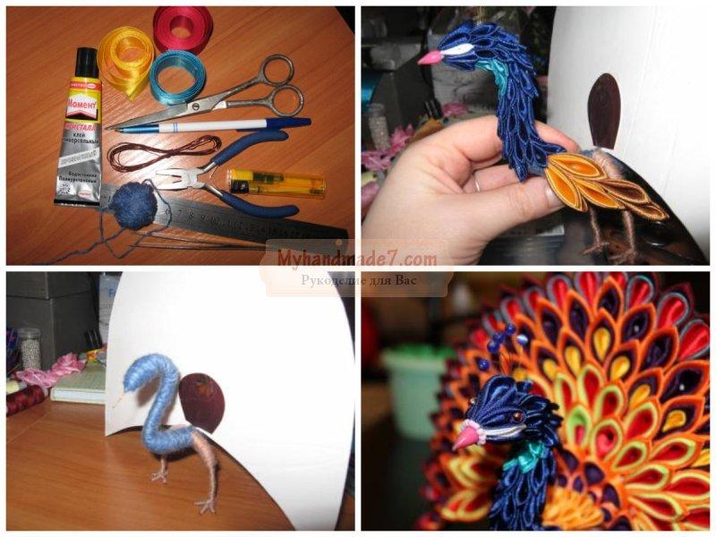 Поделки своими руками птица