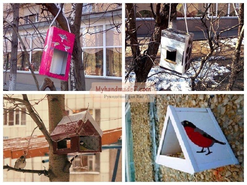 Кормушка для птиц: идеи, фото и мастер-классы