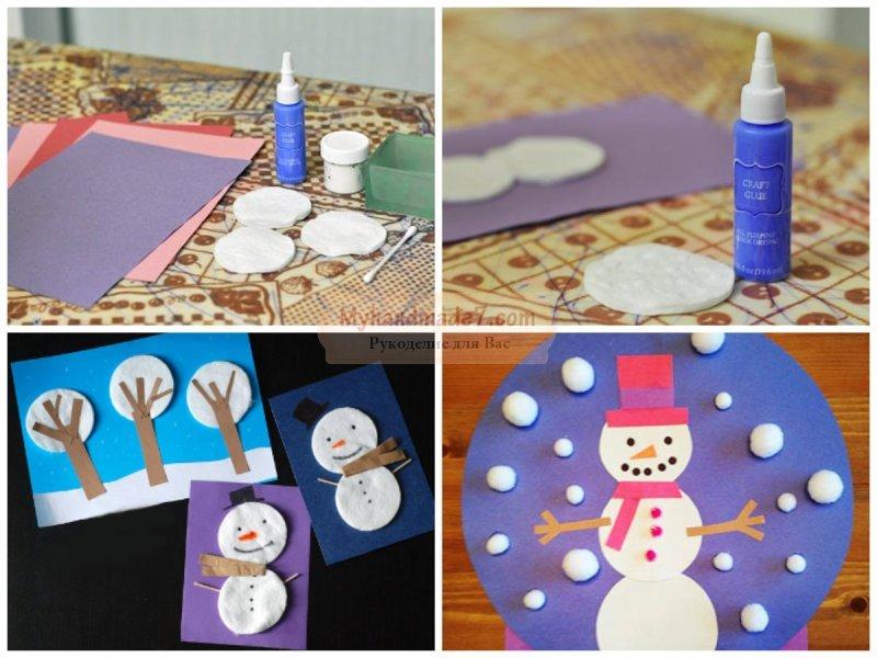 Поделка снеговик своими руками для детского сада: пошаговые мастер-классы с фото