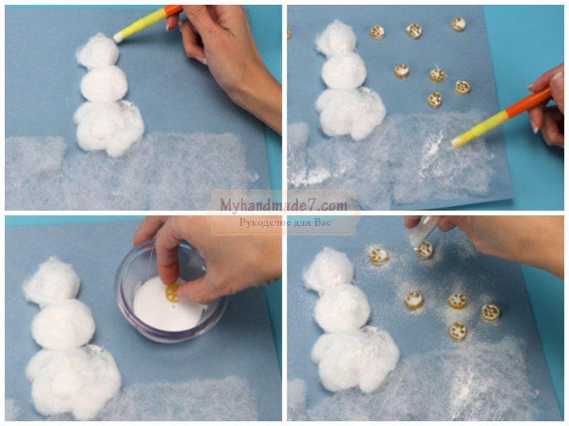 Как сделать снеговика своими руками видео из снега