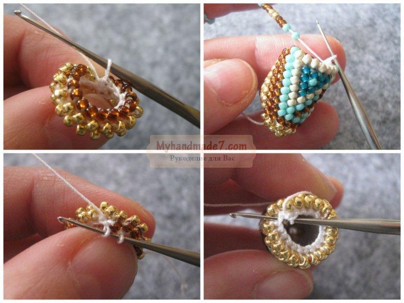 Как сделать браслет из бисера для начинающих: схемы