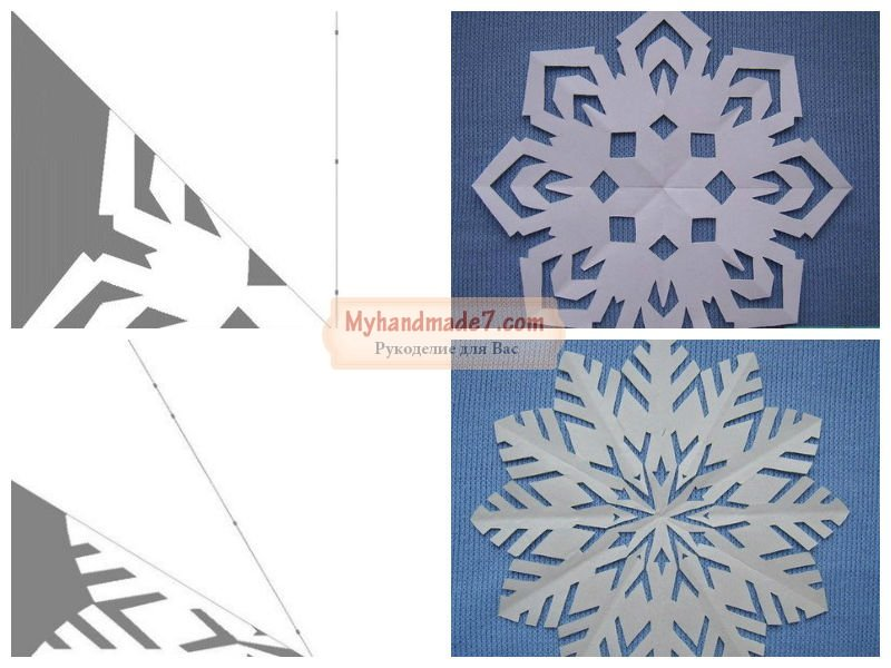 Поделка снежинка: лучшие техники хендмейда