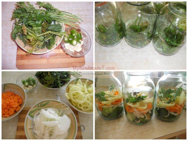 консервация салатов на зиму рецепты с видео