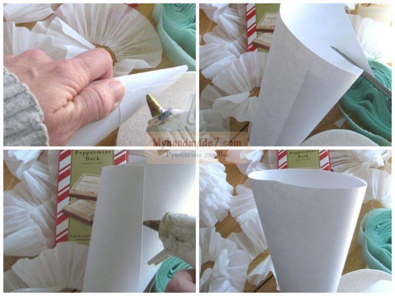 Елка из гофрированной бумаги своими руками: подробные мастер-классы с фото