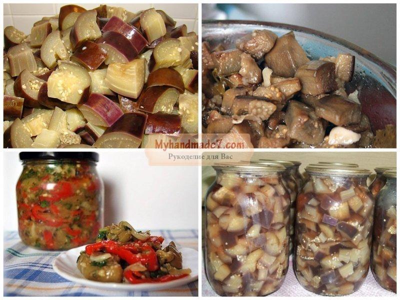 баклажаны брусочками на зиму рецепты приготовления