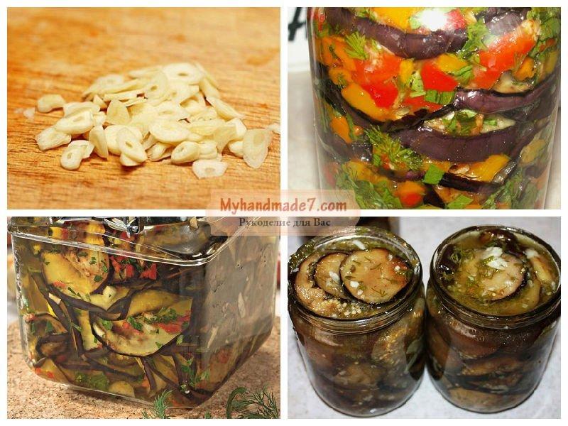 баклажаны рецепты на зиму приготовления с фото