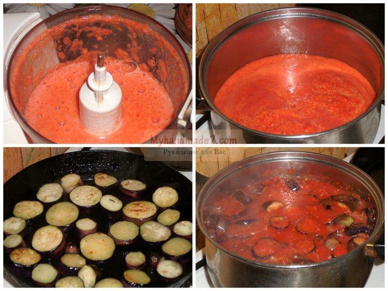 Жареные баклажаны на зиму: лучшие рецепты с фото