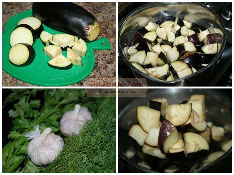 Баклажаны с чесноком. Как заготовить на зиму?