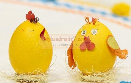 Пасхальные цыплята: лучшие идеи с фото