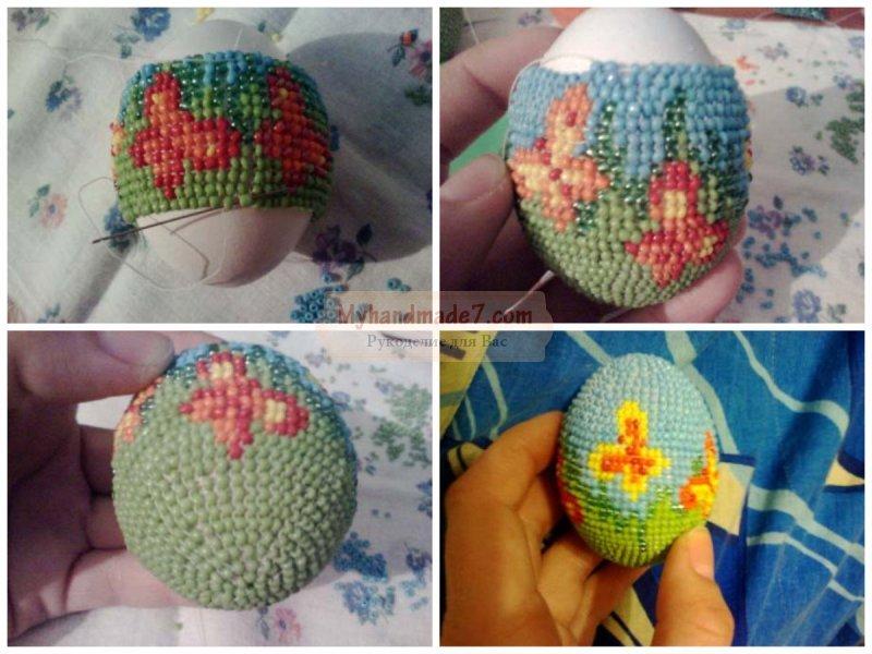 Яйца из бисера: ТОП-10 идей с подробными фото