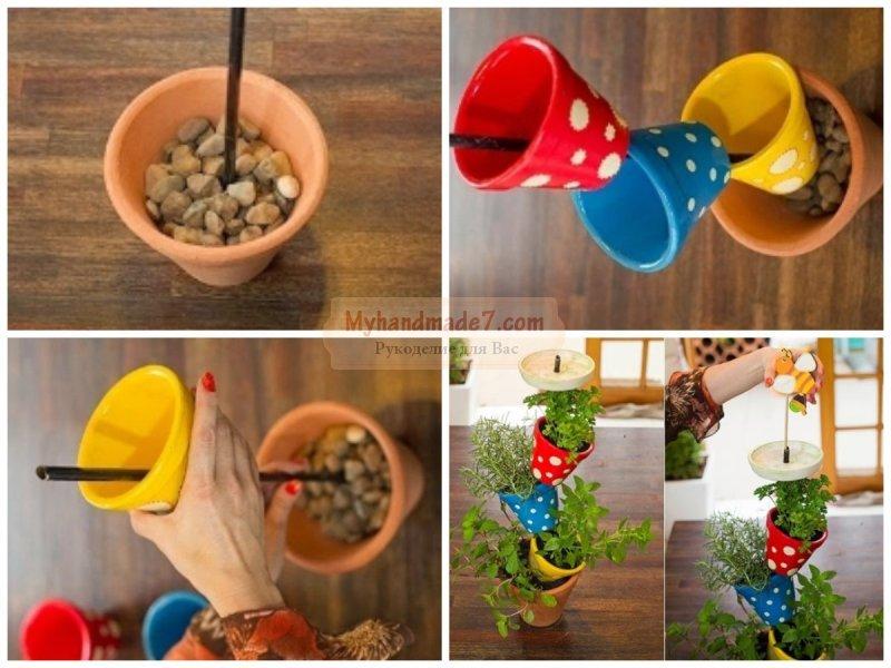 Подставка для цветов своими руками: подробные мастер-классы с фото