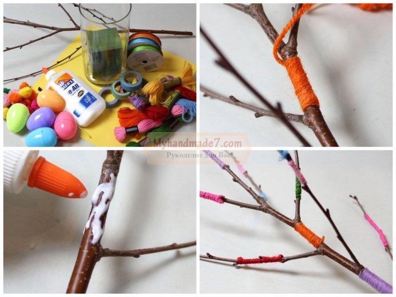 Поделки к Пасхе: пасхальное дерево. Лучшие идеи и мастер-классы